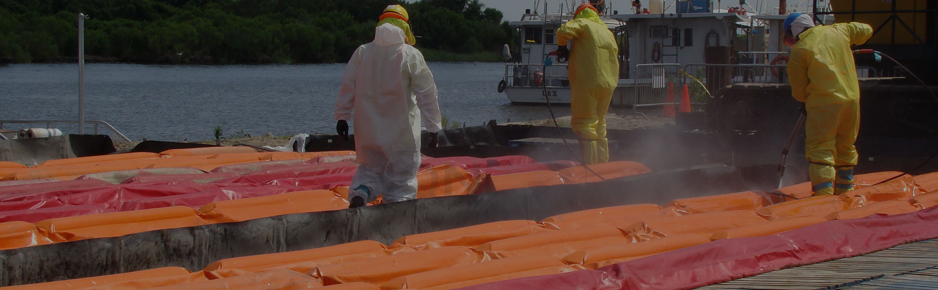 request a quote on spill berms from hqn in canada